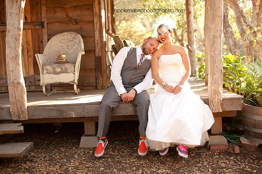 vans wedding