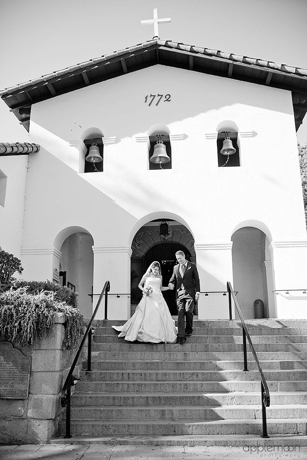 san luis obispo mission wedding