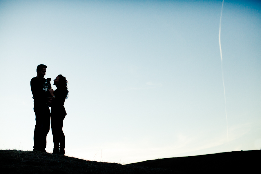real engagement couple san luis obispo