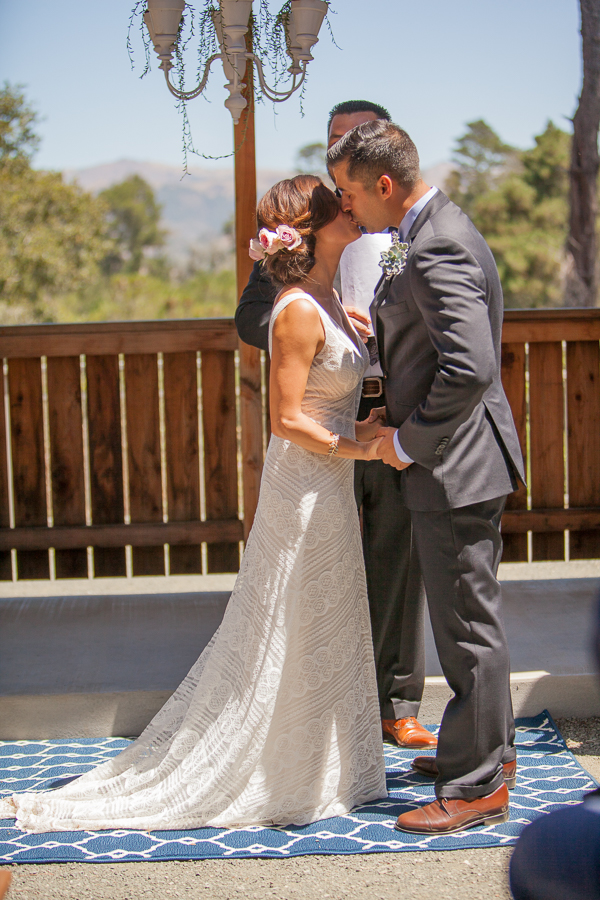 Cambria Pines Lodge wedding